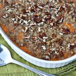 Sweet Potato Pie Casserole