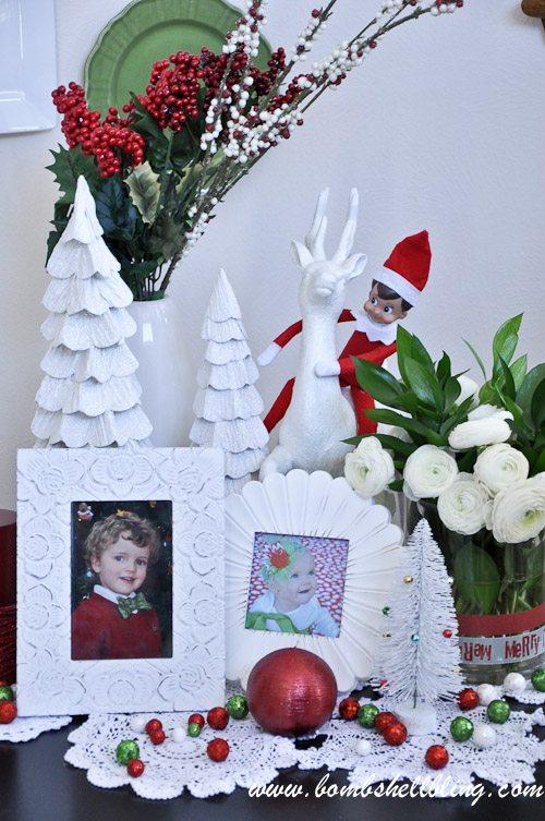 Christmas Plate Wall-2