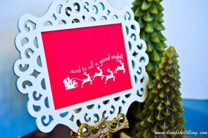 Love this simple but darling FREE Christmas Printable!