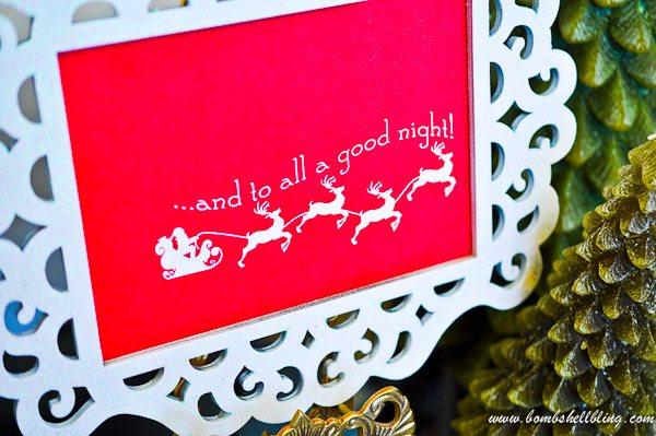Love this simple but darling FREE Christmas Printable!