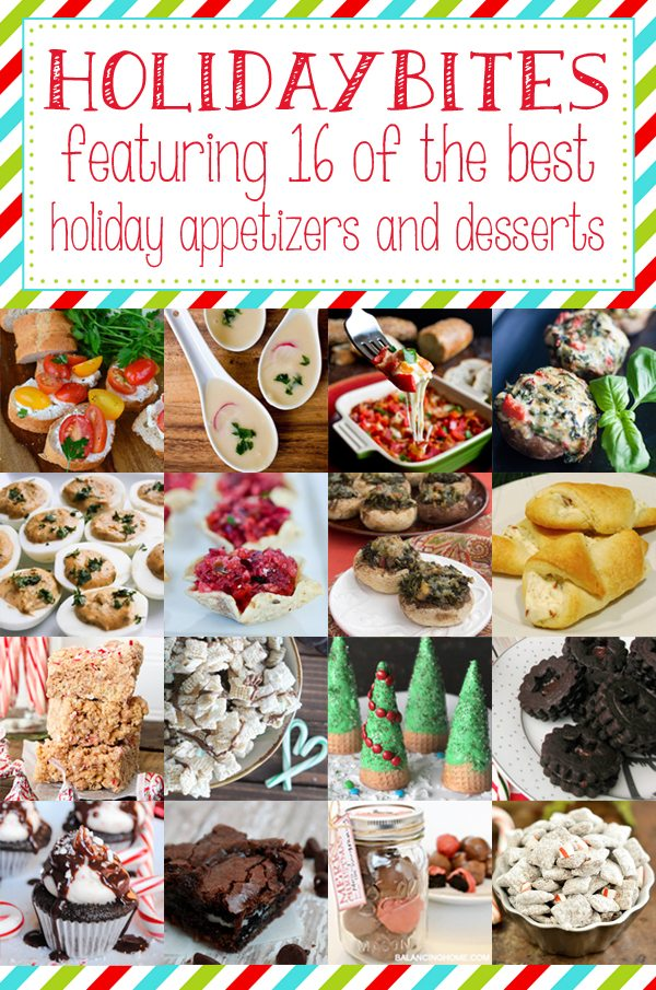Recipes galore for holiday party finger food!