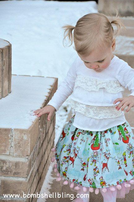 Pom Pom Twirly Skirt-27