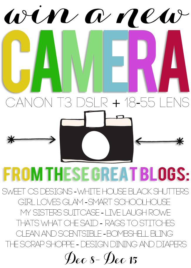 win a canon t3 in time for Christmas!