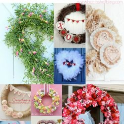 21 Perfect Valentine's Day Wreath Tutorials