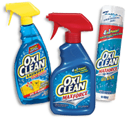 Cleaning supplies - Oxi Clean
