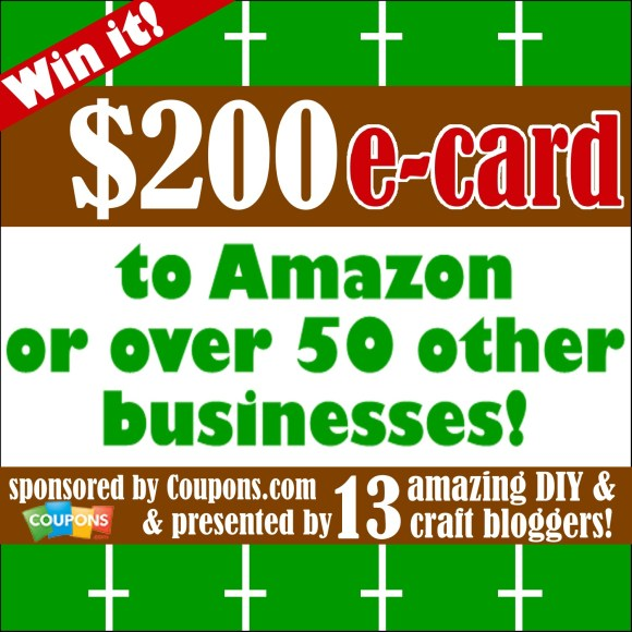 WIN a $200 Amazon Gift Card!!
