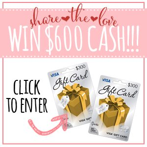 $600 gift card giveaway 300