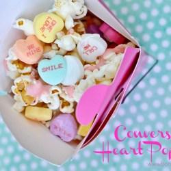 Conversation Heart Popcorn Recipe