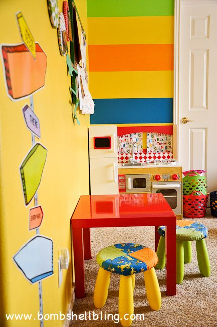 OMG! Such a fun Dr. Seuss bedroom!
