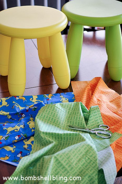 Dr Seuss Stool Covers-2