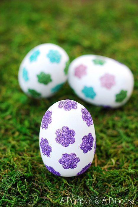+Flower-Glitter-Eggs
