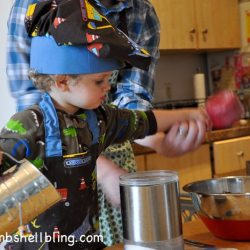 Toddler Apron & Chef's Hat