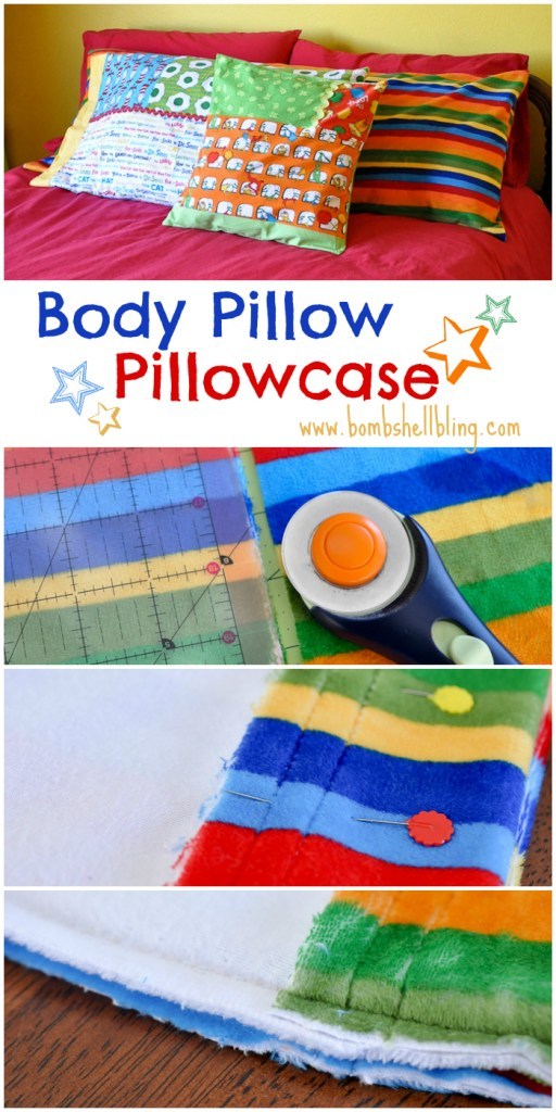 Body Pillow Pillowcase Tutorial