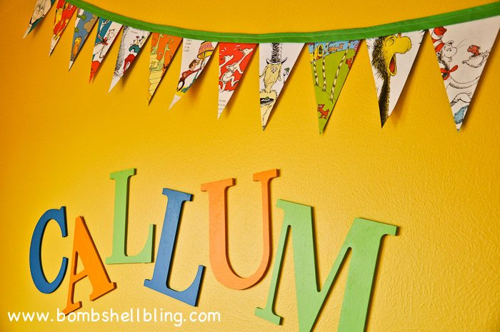 Book Page Pennant Banner-9