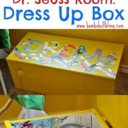 Dr. Seuss Room: Toy Box Makeover