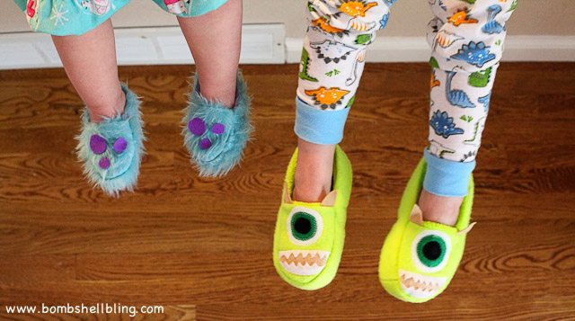 Monsters Inc Slippers-6