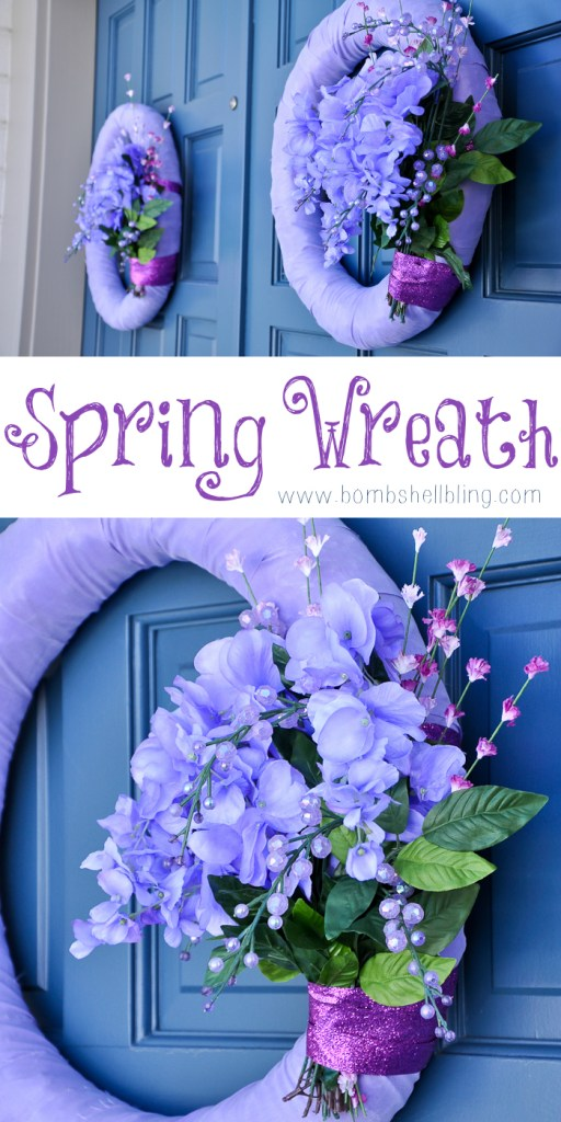 Spring Wreath by Bombshell Bling