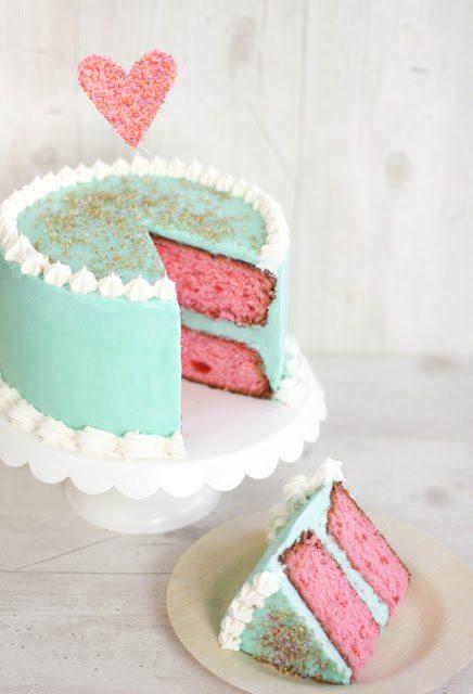 *SprinkleBakes cherry vanilla cake 6