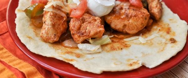 Mama's Chicken Fajitas Recipe