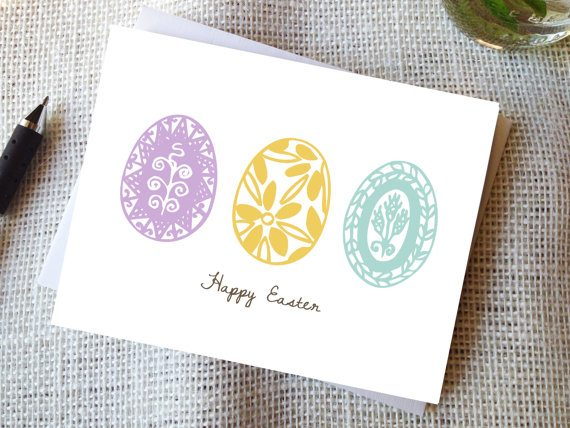Easter Cards - Spring Printable