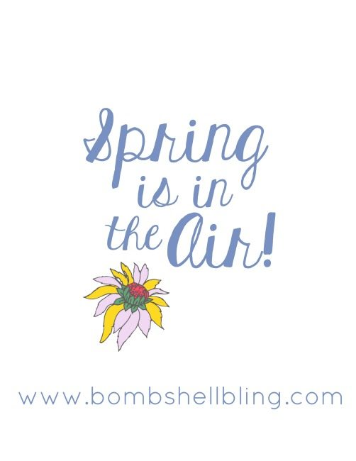 Spring is in the Air Free Spring Printable Proof