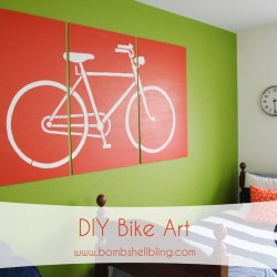 DIY Bike Art