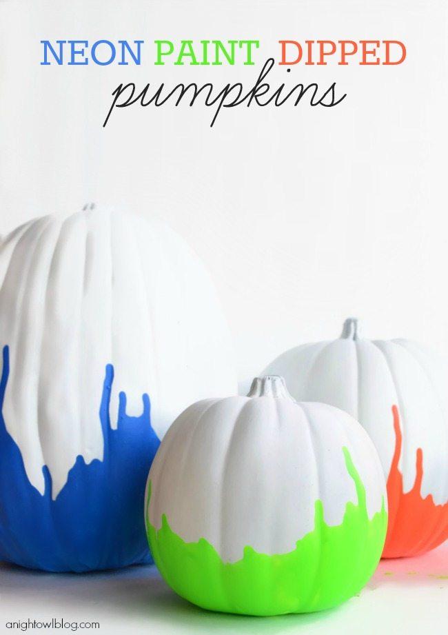 ANO Neon-Paint-Dipped-Pumpkins-Main