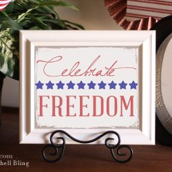 Fourth of July Printable & Blog Hop