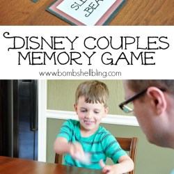 Disney Couples Memory Game