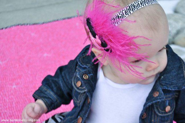Punk Rock Baby Headband Tutorial