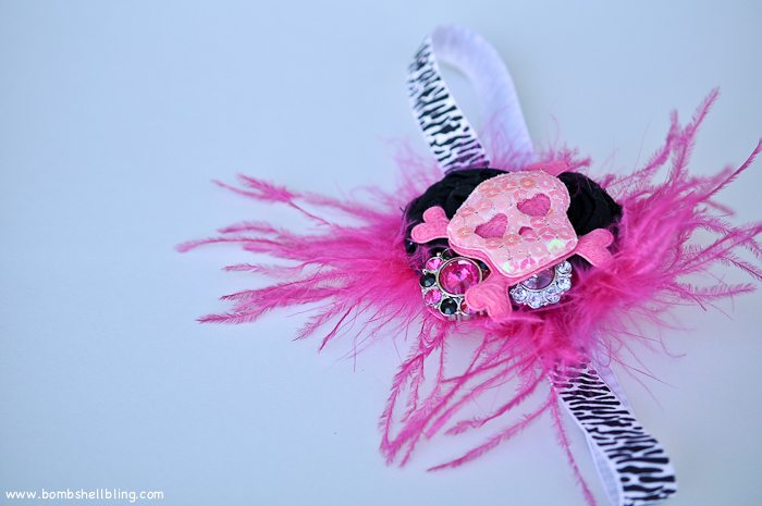 Punk Rock Baby Headband-16