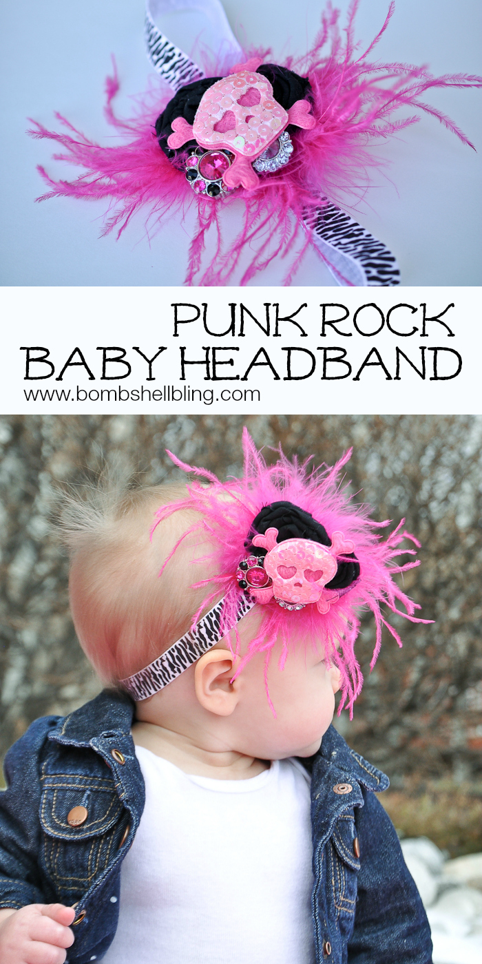 Punk Rock Baby Headband from Bombshell Bling