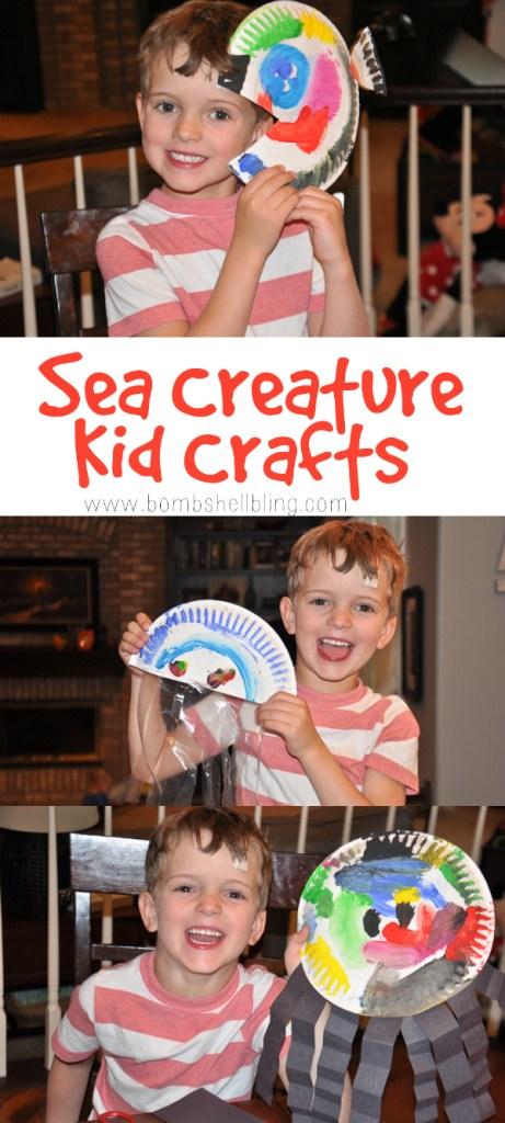 Sea Creature Kid Craft Ideas