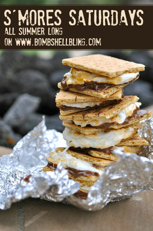 Smores Saturday on Bombshell Bling