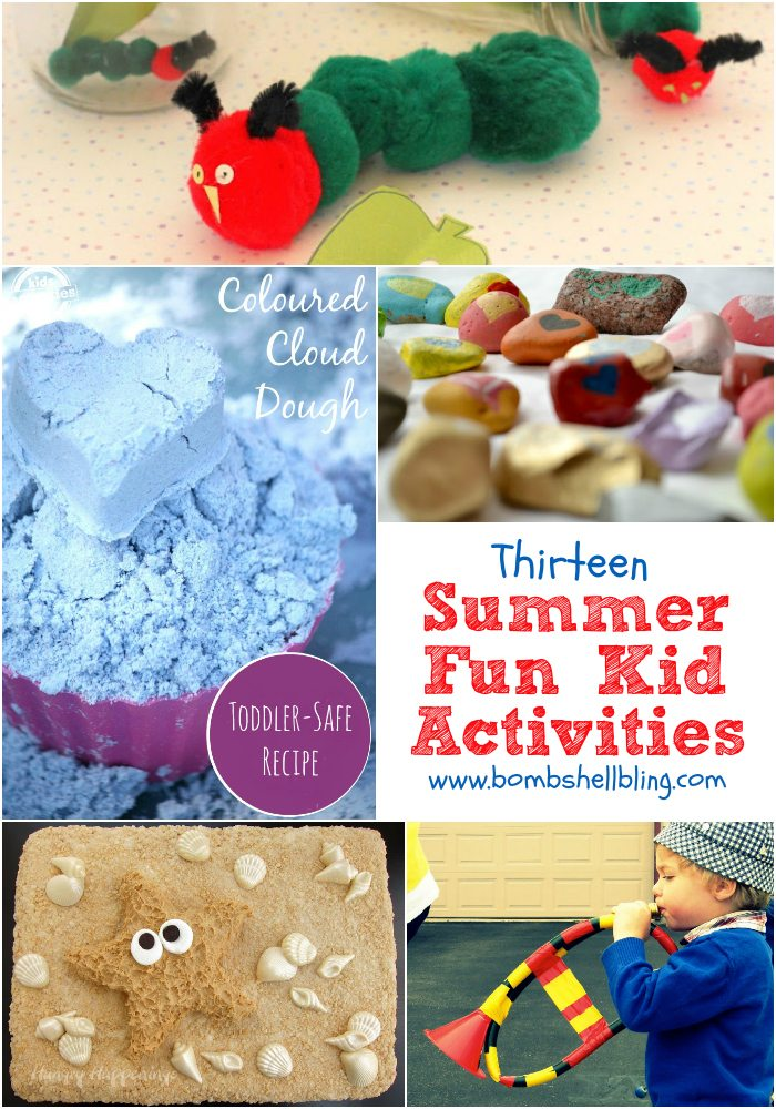 13 Summer Fun Kid Crafts And Activities