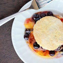 Blueberry Peach Cobbler