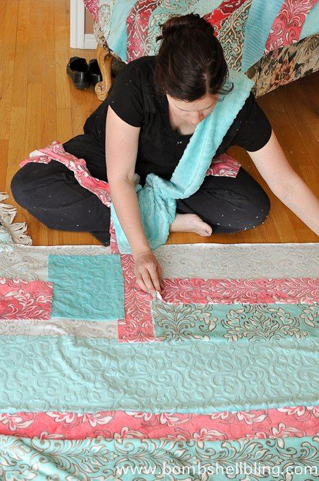 Mar Bella Colorblock Blanket-2
