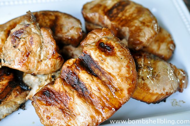 Pineapple Soy Pork Chops-3