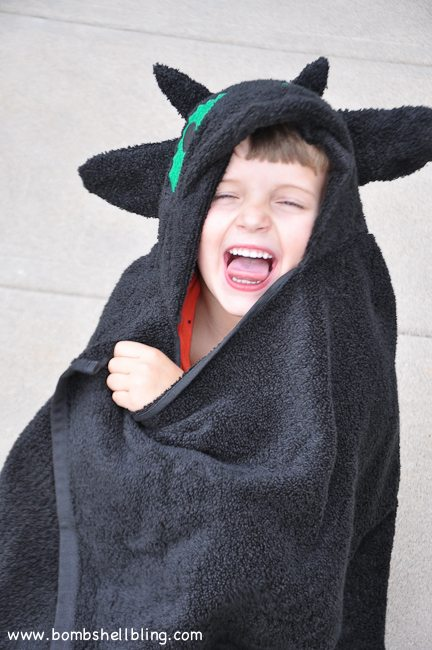 Toothless Hooded Towel-18