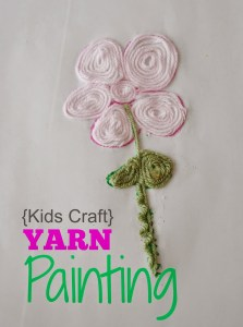 *Yarn Painting Title Image