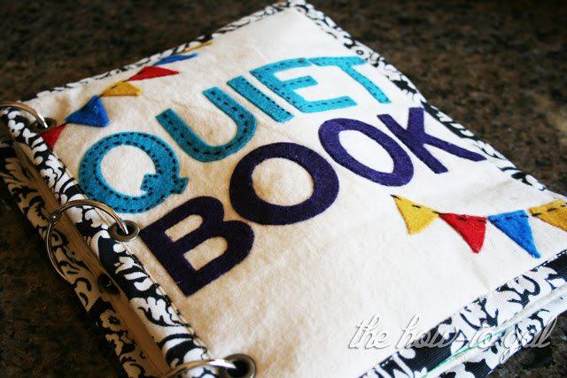 *Quiet Book Cover
