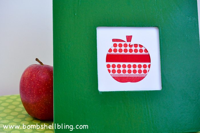 Washi Tape Apple Art-6
