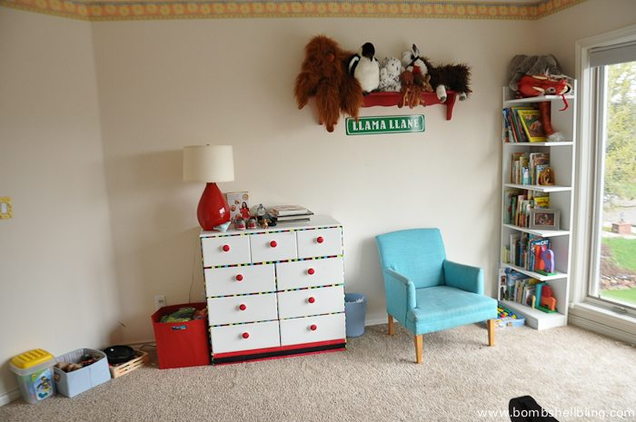 Nursery Reveal: BEFORE