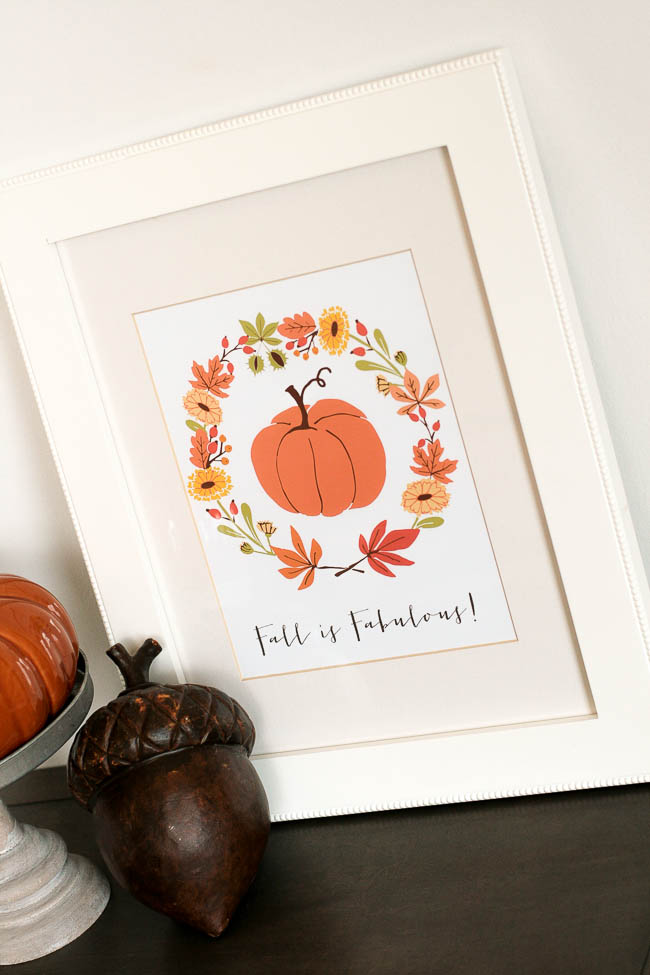 Free Fall Printables fall is fabulous