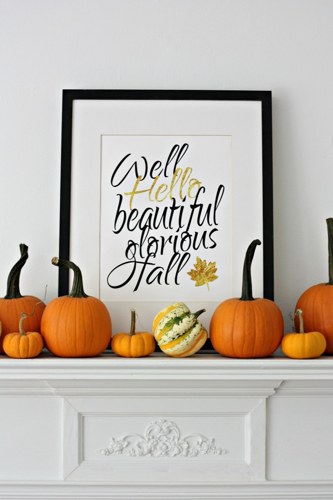 Free Fall Printables Well Hello Fall printable