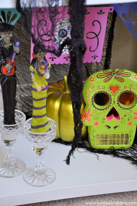 Dia De Los Muertos Decorations Display