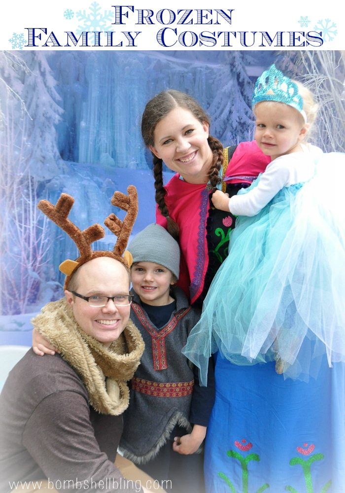 FROZEN Family Costumes