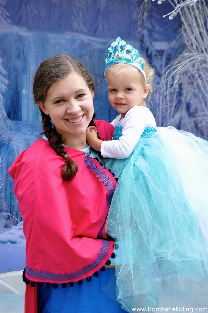 Frozen Family Costumes Elsa Tutu Dress -6