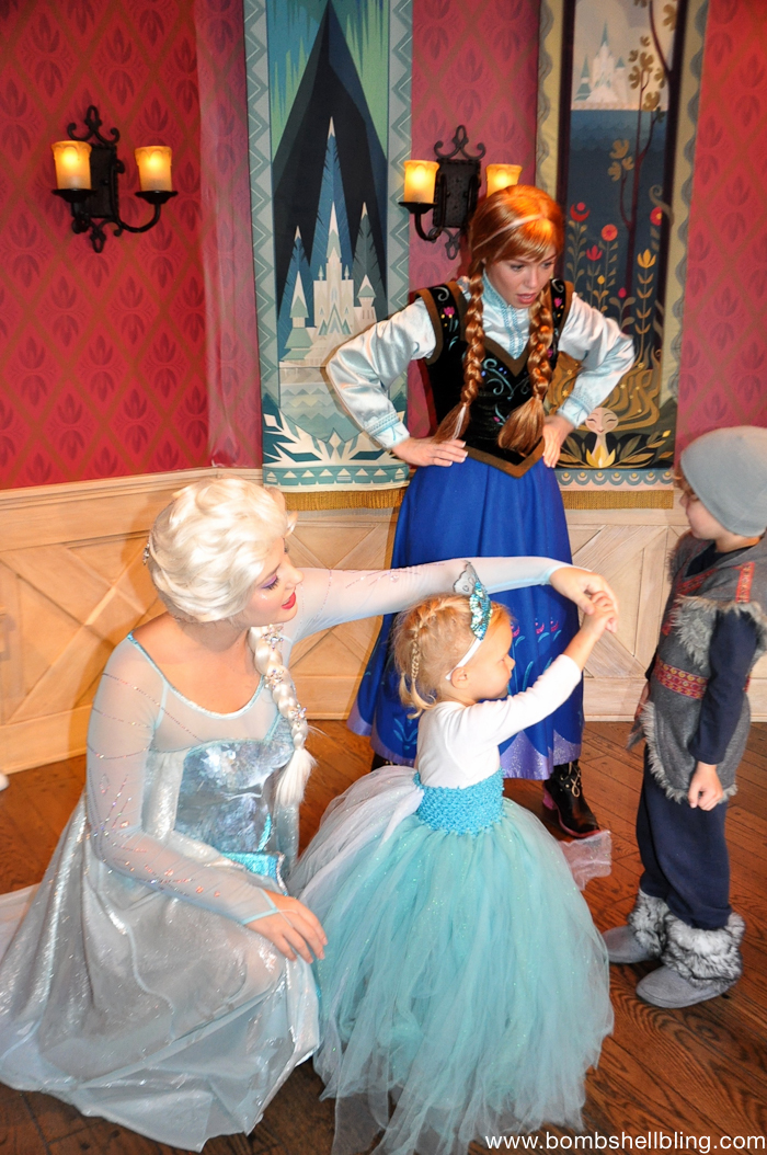 Frozen Family Costumes Elsa Tutu Dress -9