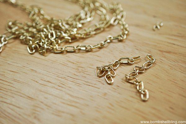 Gold & Green Earrings Tutorial CC-2